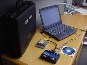 CDR Kit In Use