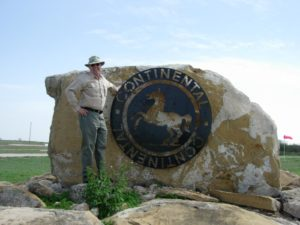 Dr Bob at Continental Tire Test Track in Uvalde, TX