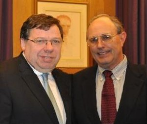 Dr. McElroy & Prime Minister Cowen