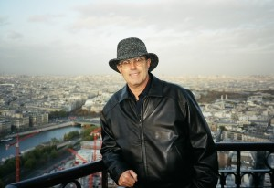 Visit to the Eiffel Tower while working with the French Ministry of Transport in 2003