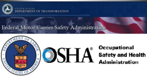 Department of Transportation + FMCSA + OSHA