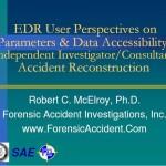 NTSB-SAE EDR Symposium 2003